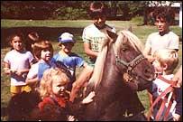 neighborhood pony ride